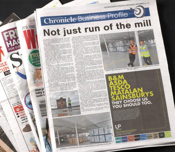 Heron Mill Makes The Headlines