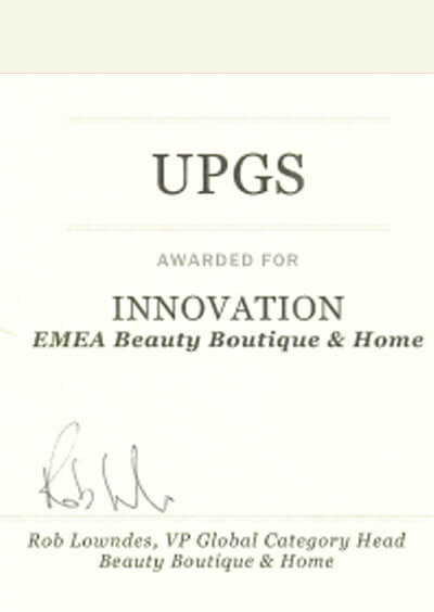 Certificate of Innovation